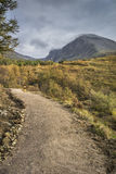 Ben Nevis North face & stream in Scotland. Royalty Free Stock Image
