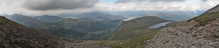 Ben Nevis panorama Royalty Free Stock Images