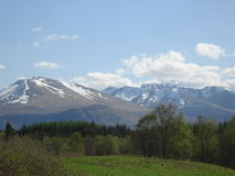 The Ben Nevis Range Stock Photo