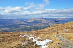 Ben Nevis Range View royalty free stock photos