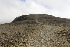 Ben Nevis, Scotland. Ben Nevis is the highest mountain in the British Isles Royalty Free Stock Photography