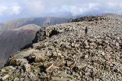 Ben Nevis, Scotland. Ben Nevis is the highest mountain in the British Isles Stock Image
