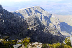 Ben Nevis, Scotland. Ben Nevis is the highest mountain in the British Isles Stock Images