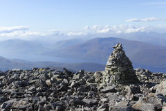 Ben Nevis, Scozia fotografie stock
