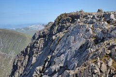 Ben Nevis summit Royalty Free Stock Photos