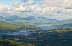 Ben nevis view Royalty Free Stock Images