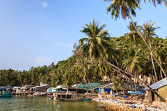 Ben Ngu-Kai, Nam Du-Inseln, Kien Giang-Provinz, Vietnam Lizenzfreies Stockfoto