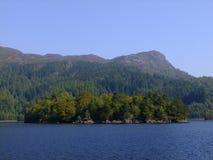 Ben A'an od Loch Katrine zdjęcia royalty free