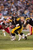 Ben Roethlisberger Pittsburgh Steelers. Ben Roethlisberger Quarterback for the Pittsburgh Steelers in game action during a regular NFL game stock photography