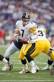 Ben Roethlisberger Pittsburgh Steelers. Ben Roethlisberger Quarterback for the Pittsburgh Steelers in game action during a regular NFL game stock photos