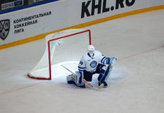 Ben Scrivens (30) disappointed Royalty Free Stock Photography