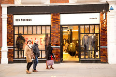 Ben sherman Royalty Free Stock Images