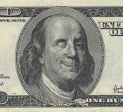 Ben sorridente Franklin Fotografia Stock