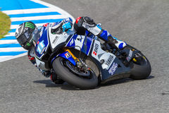 Ben Spies pilot of MotoGP Stock Image