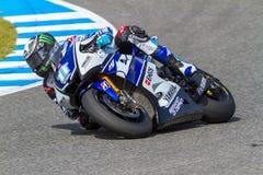 Ben Spies pilot of MotoGP Stock Image