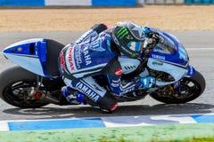 Ben Spies pilot of MotoGP Royalty Free Stock Photo