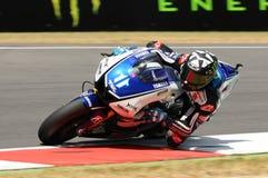 Ben Spies YAMAHA MotoGP 2012 images libres de droits