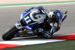 Ben Spies YAMAHA MOTOGP 2011 Stock Photo