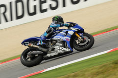 Ben Spies YAMAHA MotoGP 2011 Royalty Free Stock Image