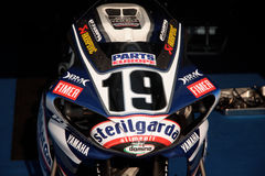 Ben Spies Yamaha YZF-R1 Stock Photography
