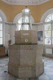Ben-stanza di una fonte di acqua minerale in Pjatigorsk Fotografia Stock Libera da Diritti