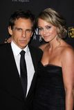 Ben Stiller, Christine Taylor Stock Photos