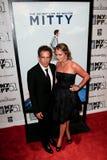Ben Stiller, Christine Taylor Imagen de archivo libre de regalías