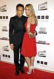 Ben Stiller and Christine Taylor Stock Photos