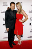 Ben Stiller and Christine Taylor Stock Photography