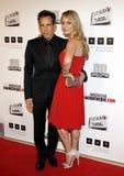 Ben Stiller and Christine Taylor Stock Photo