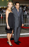 Ben Stiller and Christine Taylor Royalty Free Stock Images