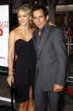 Ben Stiller and Christine Taylor Stock Image