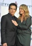 Ben Stiller & Christine Taylor Stock Image