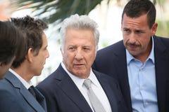 Ben Stiller, Dustin Hoffman en Adam Sandler Stock Foto's