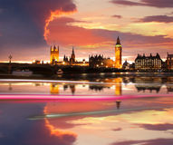 ben stor afton london uk Royaltyfria Bilder