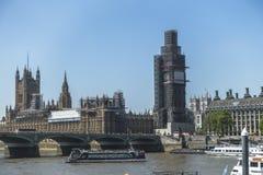 ben stor bro london westminster Arkivfoto