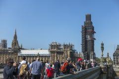 ben stor bro london westminster Fotografering för Bildbyråer