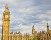 ben stor england parlament Arkivbilder