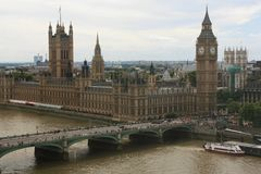 ben stor london parlament Royaltyfria Foton