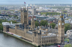 ben stor london parlament Royaltyfri Bild