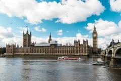 ben stor london parlament London England Royaltyfri Fotografi