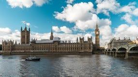 ben stor london parlament London England Royaltyfri Bild
