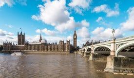 ben stor london parlament London England Royaltyfria Bilder