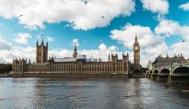 ben stor london parlament London England Royaltyfri Foto