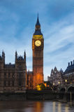 ben stor london slott westminster Royaltyfria Bilder