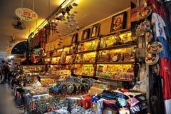Ben Thanh duży rynek w centrum Ho Chi Minh miasto Wietnam obrazy stock