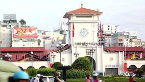 Ben Thanh Market stock video