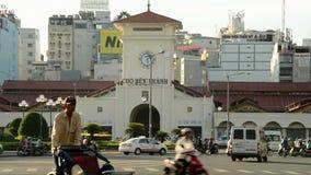 Ben Thanh Market Ho Chi Minh City - au Vietnam du centre banque de vidéos