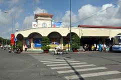 Ben Thanh Market, Ho Chi Minh City, Vietnam stock photo