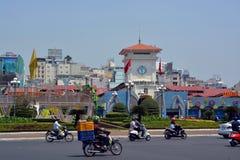 Ben Thanh Market, Saigon Vietnam image libre de droits